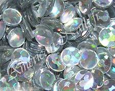 1 boite de paillettes ROND Argent Holograhique bijoux déco pour ongle Nail Art