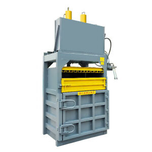 Vertical Hydraulic Baler Vertical Waste Paper Hydraulic Packer 8t Compression
