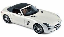 NOREV 1/18 Mercedes Benz SLS AMG Roadster Diecast Model Car Pearl White (183491)