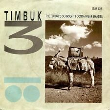 TIMBUK 3 The Future's So Bright I Gotta Wear Shades 7 Inch IRS IRM 126 1986