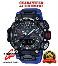 Casio G-shock Grb200-1a2 GRAVITYMASTER Master of G Bluetooth Connected Blue