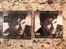 Adam Lambert The Original High Signed Autographed CD Insert with Sealed CD
