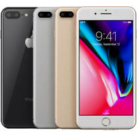Apple iPhone 8 Plus 64GB Factory Unlocked Smartphone Used + 3 Month Service Plan
