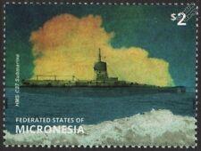 WWI Royal Navy HMS C27 C-Class Vickers Submarine Stamp (2015 Micronesia)