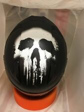HJC CL-17 THE PUNISHER  MARVEL MOTORCYCLE HELMET IN STOCK  XXL  2XL