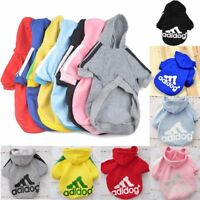 Dog Puppy Sweater Hoodie Coat For Small Dog Cat Pet Warm Cute Costume Apparel