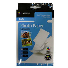 Premium Photo Paper, Grafix Platinum - 6 x 4 - 50 Sheets - 220gsm Gloss