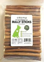 6 INCH SUPERIOR BULLY STICK FOR DOGS BEST QUALITY Dog CHEW (1 lbs bag)