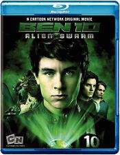 Ben 10 - Alien Swarm  (Blu-ray)    NEW sold as is