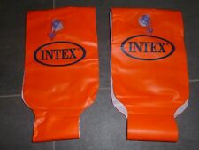 Schöne orange SCHWIMMFLÜGEL von Intex, 6 - 12 Jahre