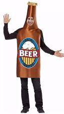 Brew Master Beer Bottle Bar Halloween Costume Adult Men's One Size NEW