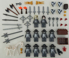 10 NEW LEGO CASTLE KNIGHT MINIFIG LOT Kingdoms figures minifigures people falcon