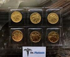 1999 Maple Leaf, Canada, 1/10 Ounce, 9999 Gold Coin