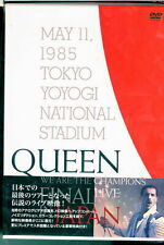 QUEEN-WE ARE THE CHAMPIONS FINAL LIVE IN JAPAN-JAPAN DVD+BOOK Ltd/Ed S95 sd