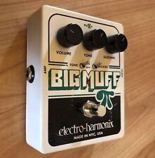 Electro Harmonix EHX Big Muff Pi Guitar Effects Fuzz Pedal