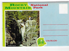 POSTCARD FOLDER-ROCKY MOUNTAIN NATIONAL PARK-COLORADO