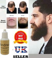 NATURAL FACIAL HAIR GROWTH TREATMENT SERUM GROW MUSTACHE BEARD EYEBROWS FAST