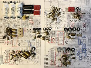 PREMIUM Reparatursatz REVOX B77 KOMPLETT Kondensatoren Trimmer Repairkit MK1-MK2