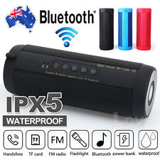 Portable Mini Wireless Bluetooth Waterproof Outdoor Flashlight Speaker USB