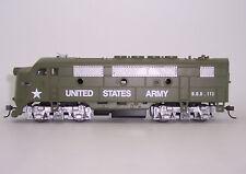 HO IHC US ARMY F-3 A LOCO DC  US ARMY TRANP-COR EMD F-3 A M6813