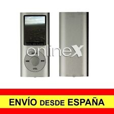 Reproductor Digital MP3/MP4 LCD Aluminio EBOOK / FM Multiformatos Gris a3088