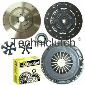 FLYWHEEL AND LUK CLUTCH KIT FOR CAYC SEAT ALTEA 1.6 TDI FWD -- 5P1