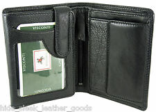 RFID Wallet Soft Real Leather Visconti New in Gift Box in 3 colours HT11