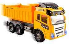 RC Dump Truck Remote Control Vehicle Garbage Construction Outdoor Play Kids Toy