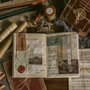 10pcs Vintage Decorative Paper Junk Journal Retro Props DIY Scrapbooking Album