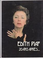 Edith Piaf-20  Ans Apres Music book