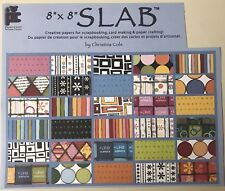 "8x8 SLAB (RARE) ""30 Sheets"" Scrapbooking/Crafting Paper.All Different Designs"