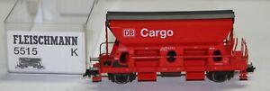 Fleischmann H0  5515 K Seitenentladewagen DB Cargo, rot, mit KKKulisse in OVP