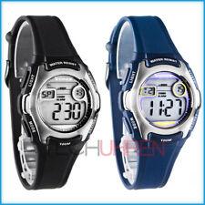 Zierliche XONIX Armbanduhr für Damen und Kinder digital WR100m