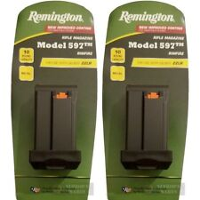 TWO REMINGTON 597 22LR .22 10 Round Magazines 19654 OEM *FAST SHIP*!!!