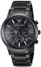 Emporio Armani Classic Black Chronograph Watch AR2453