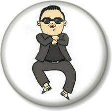 "GANGNAM STYLE 25mm 1"" Pin Button Badge Dance Popsong PSY South Korea Fun Novelty"