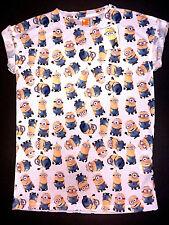 NEU Minion Damen T-Shirt 32 34 XS Bob Kevin Stuart Print Kurzarm Primark