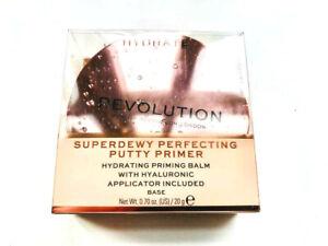 MAKEUP REVOLUTION Superdewy Perfecting Putty Primer Hydratin Glow Pore Blur Balm