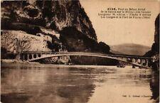 CPA  Pont en Béton Armé de la Balme sur le Rhone  (485493)