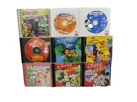 Lot of 9  PC CD-ROM,  Learning Games From Disney and More