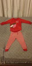 M&S Girls Festive Pyjamas 3-4 yrs