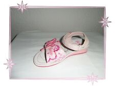 Superbes Chaussures Nus Pieds Roses Barbie Pointure 28