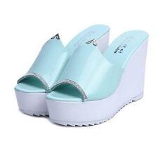 Blue Slippers for Women