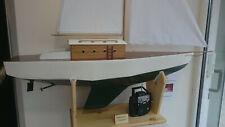 Modellboot rc Segelboot Boot ferngesteuert Modellbau Eigenbau 130cm
