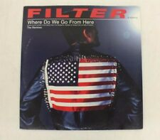 Filter Where Do We Go From Here Remixes PROMO Double LP Good+ Fast Shipping
