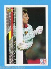 Figurina/CARDS-UPPER DECK 94 -WC USA 94- n.81- PREUD'HOMME - BELGIO