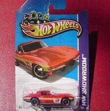 RED. '64 Corvette Sting Ray. HW Showroom. 204/250. New in Blister Pack!