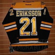 Loui Eriksson Boston Bruins Signed Autographed Reebok Home Jersey