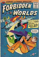 FORBIDDEN WORLDS #129 (1965) ACG Comics MAGICMAN VG+
