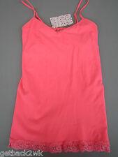 NEW Free People XS/S Cami Shelf Bra Bralette SHIRT TOP Neon Bubblegum Pink